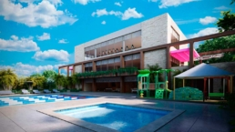 Amenidades Alberca Y Gym Casa Club En La Ceiba Mayakoba