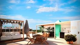 La Ceiba Mayakoba Roof Garden