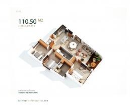 Laceiba Floorplans 3 Recamaras