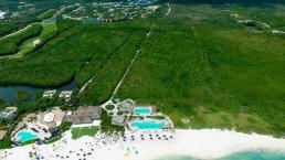Mayakoba Country Club Montaje De Club De Playa