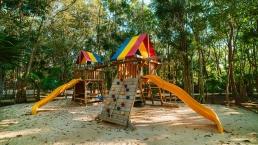 Parques Con Juegos Y Areas Verdes En Senderos De Ciudad Mayakoba