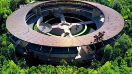 Vista aérea Winpenny School