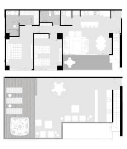 Penthouse Downtown Departamento B